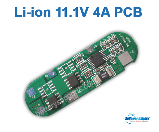 11.1V 10.8V 3S 4A Lithium PCB PCM 3s 10 8v 11 1v 12 6v 4a li ion battery pcb pcm circuit board [11 1 12V Lipo Battery at soozxer.org