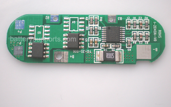 3S 10.8V 11.1V 12.6V 4A Li-ion Battery PCB PCM Circuit Board