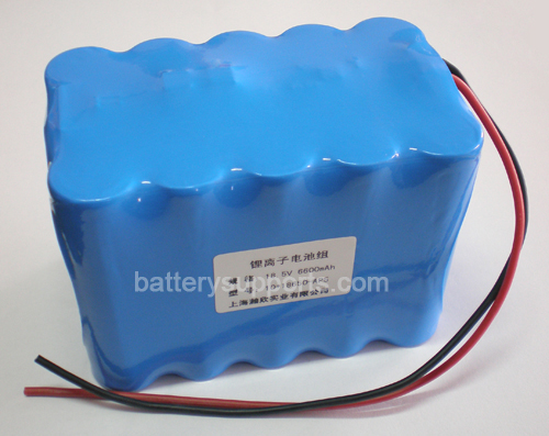 10.8V 11.1V 15*18650 15.5Ah 3S5P Lithium ion Li-ion Battery Pack