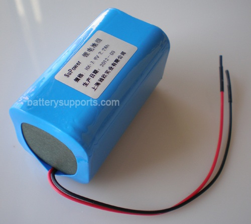 14.4V 14.8V 4* 18650 2200mAh 4S Lithium ion Li-ion Battery Brick