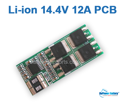 4S 14.4V 14.8V 16.8V 12A Li-ion Battery PCB PCM Circuit Board