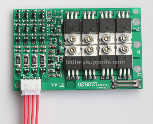 14.4V 14.8V 4S 45A 4x 3.6V Lithium ion LiPo Battery BMS PCM SMT