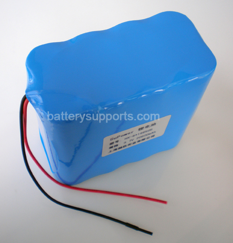 14.4V 14.8V 8*18650 5200mAh 4S2P Lithium ion Li-ion Battery Pack