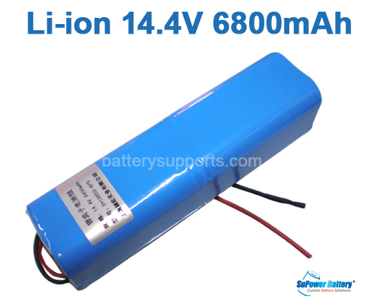 14.4V 14.8V 8*18650 6800mAh 4S2P Lithium ion Li-ion Battery Pack