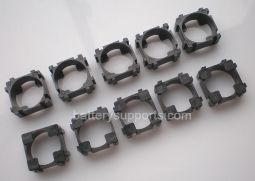 10pc Battery Spacer Seperator 1x 18650 Radiating Battery Holder