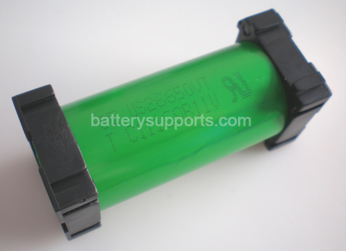 10pc Battery Spacer Seperator 1x 26650 Radiating Battery Holder