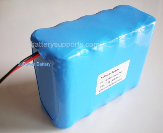 18V 21V 10*18650 6800mAh 5S2P Lithium ion Li-ion Battery Pack