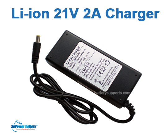 Li-ion Li-Po 21V 18V 2A 5S Wall Socket Battery Charger AC DC