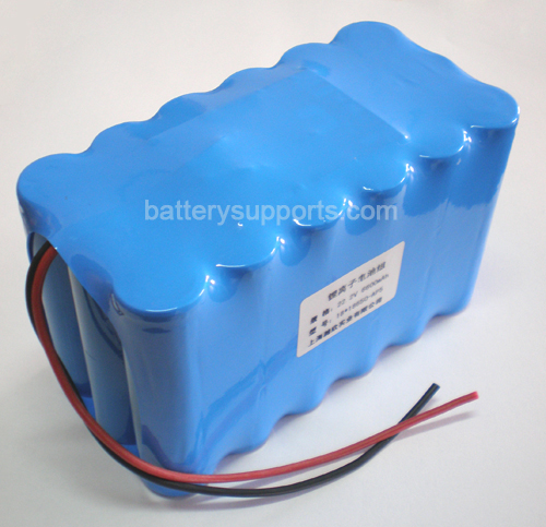22V 25.2V 18*18650 10200mAh 6S3P Lithium ion Li-ion Battery Pack