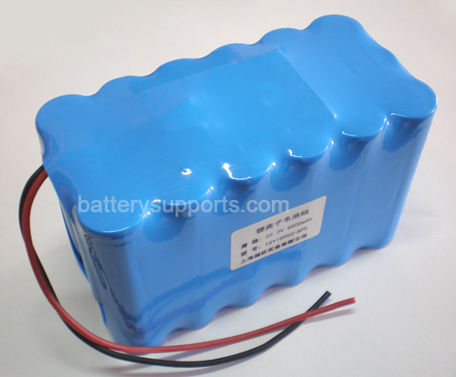 22V 25.2V 18*18650 8700mAh 6S3P Lithium ion Li-ion Battery Pack