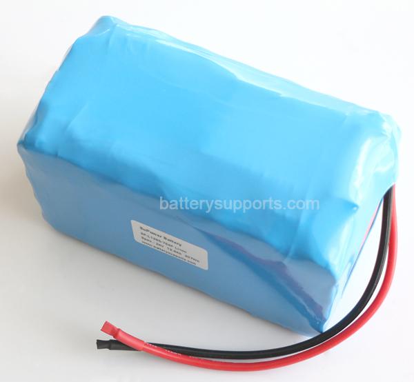 24V 10Ah 60A 1000W EV E-Bike Lithium Ion Battery embeded BMS [24V