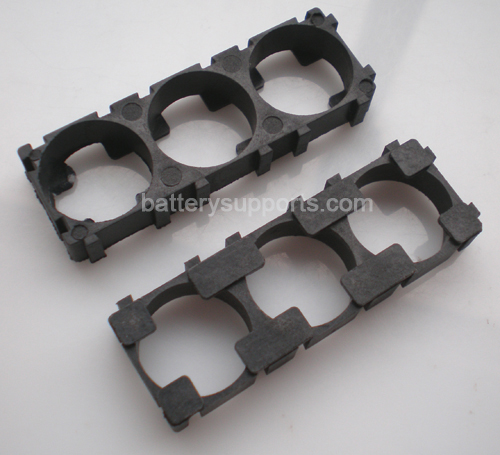 10pc Battery Spacer Seperator 3x 26650 Radiating Battery Holder