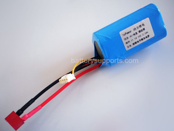 11.1V 2000mAh RC Li-ion Battery for RC Helicopter 450 Fixed-wing