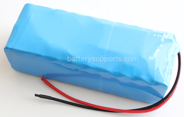 48V 54.6V 10.5Ah 30A 1000W Lithium Li-ion EV Battery Pack w/ BMS