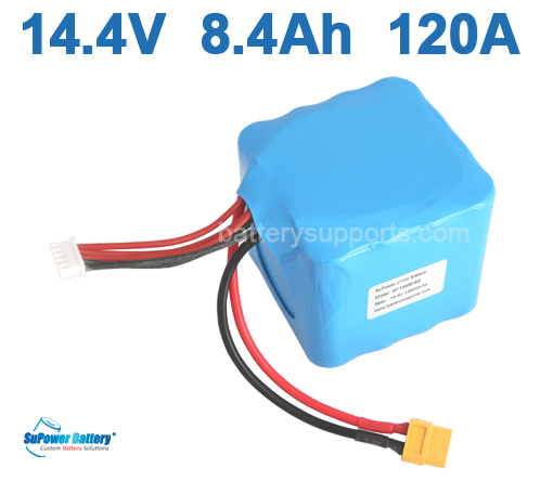14.4V 14.8V 8400mAh 120A SONY 18650VTC4 High Drain Battery Pack