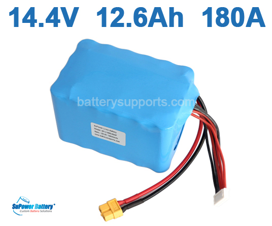 14.4V 14.8V 12600mAh 180A SONY 18650VTC4 High Drain Battery Pack