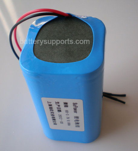 3.6V 3.7V 4* 18650 8800mAh 4P Lithium ion Li-ion Battery Module
