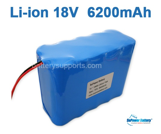 Lithium Ion Battery Pack 18V 18.5V 21V :...