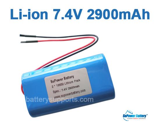 7 2v 7 4v 8 4v lithium rechargeable batteries battery bms pack