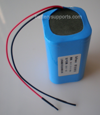 7.2V 7.4V 4* 18650 5200mAh 2S2P Lithium ion Li-ion Battery Pack