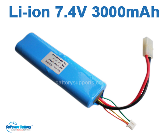 R/C Car 7.4V 3000mAh 15C Li-ion Power battery pack - Tamiya Plug