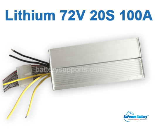 72V 84V 20S 100A 20x 3.6V Lithium ion Li-ion Li-Po Battery BMS