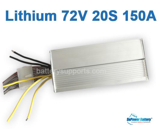 72V 74V 84V 10A Lithium ion LiPO Battery Charger 20S 20x 3 6V [72V
