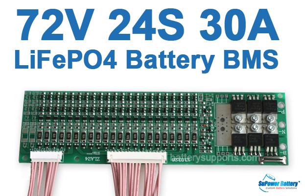 72v 30a 24s 24x 3 2v lifepo4 battery bms lfp pcb pcm smt system 72v 30a 24s 24x 3 2v lifepo4 battery bms lfp pcb pcm smt system