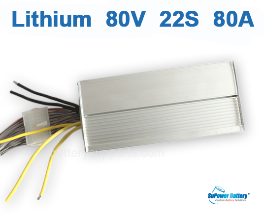 80V 92.4V 22S 80A 22x 3.6V Lithium ion Li-ion Li-Po Battery BMS