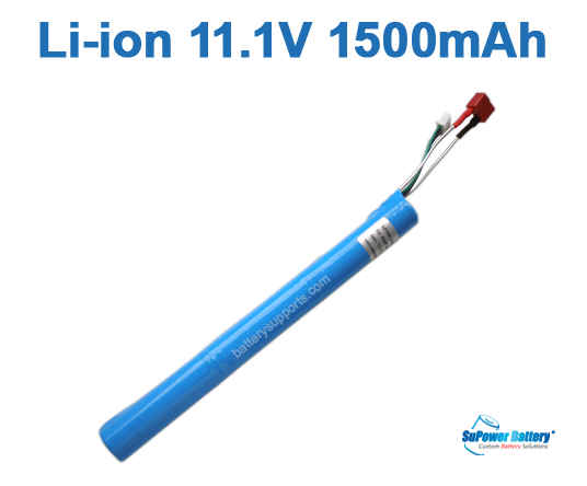Airsoft Gun 11.1V 1500mAh Lithium ion Stick Battery Pack T-plug