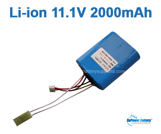 Airsoft Gun O45m SR25 Lithium ion Battery 11.1V 2000mAh (Tamiya)