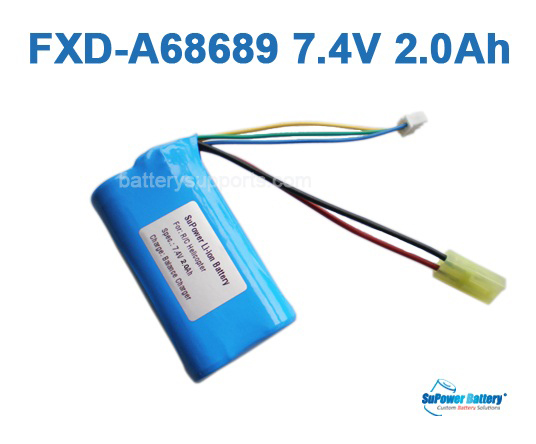 R/C Helicopter FXD-A68689 FXD-A68688 7.4V 2000mAh Li-ion Battery