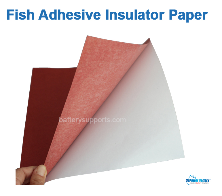 8x Fish Adhesive Insulator Paper Electrical battery Insulating