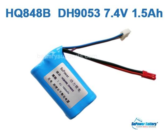 Hq848b Hq850 Dh9053 Dh9140 Mjxt23 7 4v 1500mah Li Ion