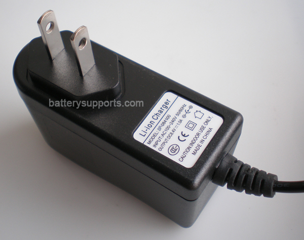 Li-ion Li-Po 7.2V 7.4V 8.4V 1A Wall Socket Battery Charger AC DC
