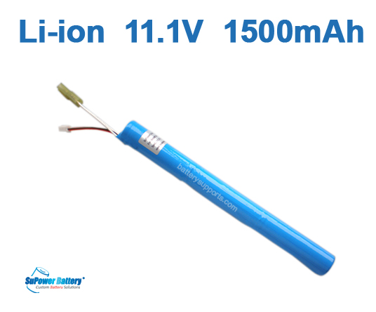 Airsoft Gun 11.1V 1500mAh Lithium ion Stick Battery Pack -Tamiya