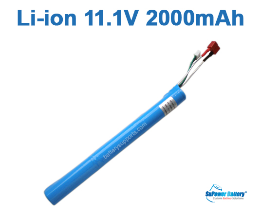 Airsoft Gun 11.1V 2000mAh Lithium ion Stick Battery Pack T-plug