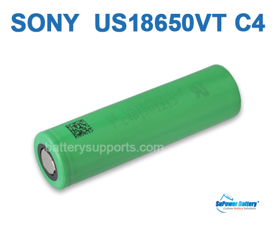 SONY US18650VTC4 HIGH DRAIN 30A Rechargeable Lithium Li-on 18650