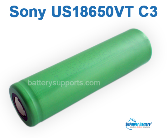 SONY US18650VTC3 HIGH DRAIN 30A Rechargeable Lithium Li-on 18650