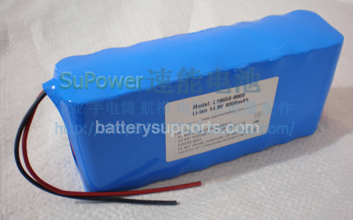 14.4V 14.8V 16*18650 12400mAh 4S4P Lithium ion Li-ion Battery
