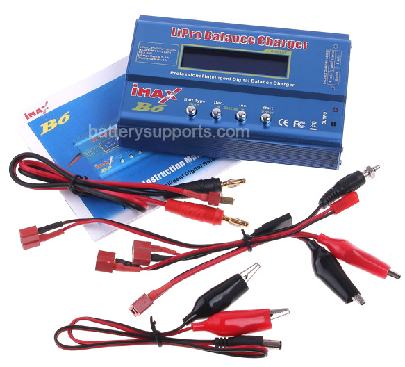 IMax B6 Digital LCD LiIon LiPo LiFe NIMH battery Balance Charger